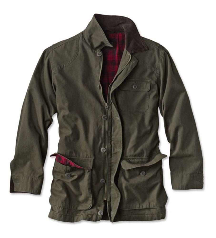 Orvis Men's Classic Barn Coat, Olive, Small by Orvis
