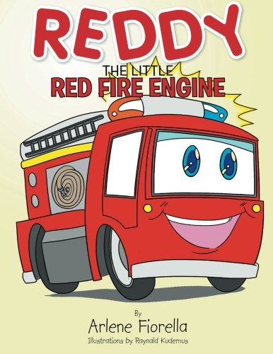 Red Little Engine Fire - Reddy the Little Red Fire Engine