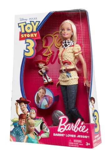 Barbie Disney Pixar Toy Story 3 - Barbie Loves Jessie