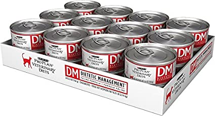 Amazoncom Purina Veterinary Diets Feline Dm Dietetic Management