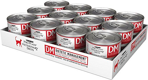 Purina Veterinary Diets Feline DM Dietetic Management Canned Cat Food 24 5.5-oz cans by Purina [Pet - Purina Diets Veterinary