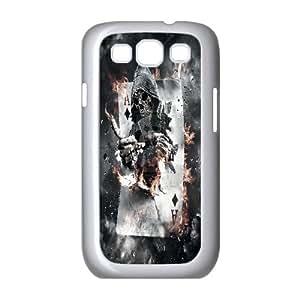 Best Quality [LILYALEX PHONE CASE] Devil Skull Art For Samsung Galaxy S3 CASE-12