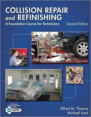 auto body technician books