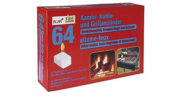KM Firemaker 64 - Encendedor de carbón y parafina para Barbacoa y ...