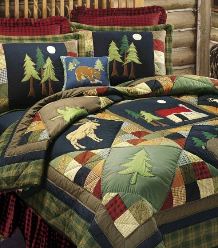 C&F Home Timberline Collection Twin Quilt, 64 by 86-Inch by C&F Home