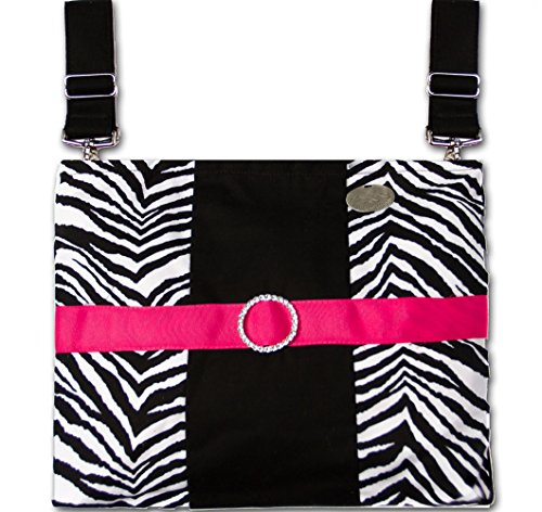 Zebra - Trendy, Functional Wheelchair/Power Chair/ Scooter/ CarryAll Bag by HDS Medallion