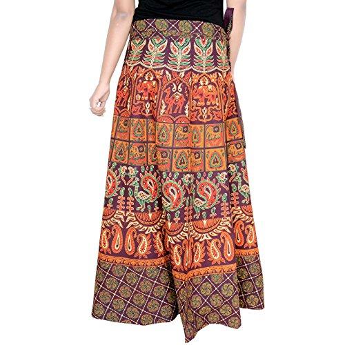 Skirt Around inch Women Cola 40 D5 Coca Wrap Skirt Length for xnIqSp