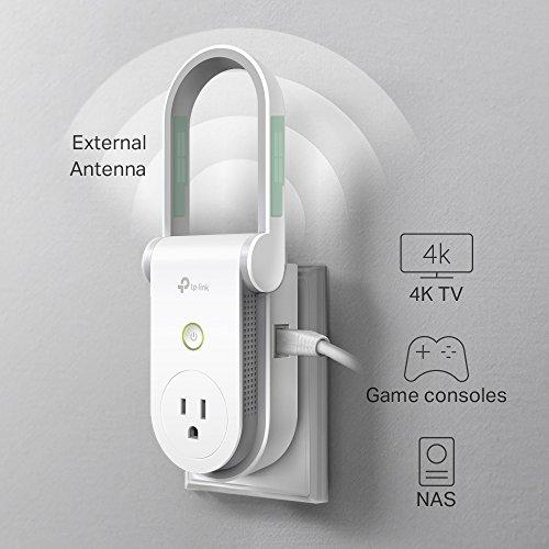 Tp Link Kasa Ac750 Wi Fi Range Extender Smart Plug Deals