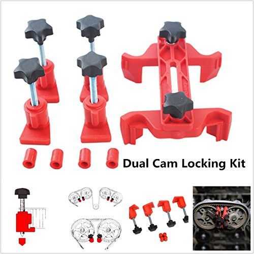 Universal 5Pcs Cam Camshaft Lock Holder Car Engine Cam Timing Locking Tool Set by WOPUS (Image #7)'