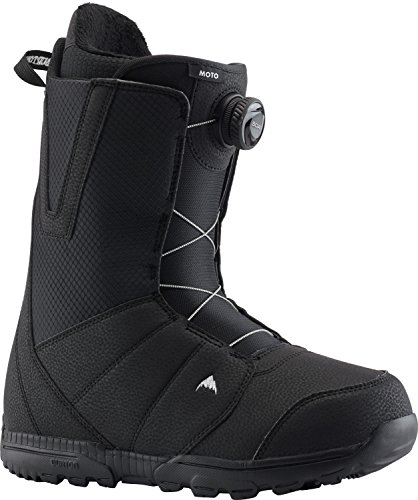 Burton Moto BOA Snowboard Boots Mens Sz 8 Black
