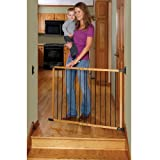 KidCo - Designer Angle Mount Safeway Pet Gate G2400 - Oak