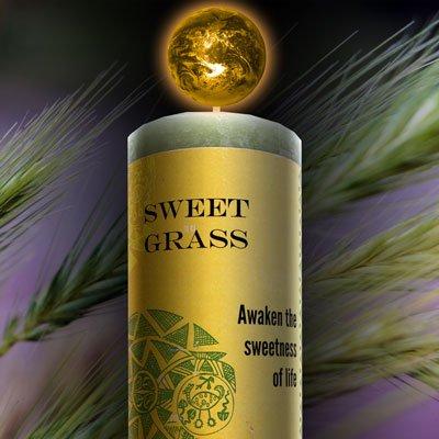 World Magic - Sweet Grass Candle