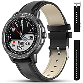 AMATAGE Smart Watch for Men Android Phones iPhone, Fitness Tracker Watch with Heart Rate and Blood Pressure Monitor…