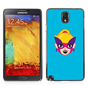 YOYOSHOP [Funny Happy Face Illustration] Samsung Galaxy Note 3 Case by mcsharks