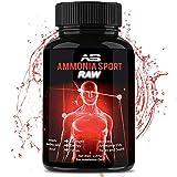 Athletic Smelling Salts - RAW - 100's of Uses Per Bottle - Strongest Smelling Salt for Athletes - Ammonia Inhalant Long Lasting Smelling Salt - Alert Supplement - Adrenaline Supplement - AmmoniaSport