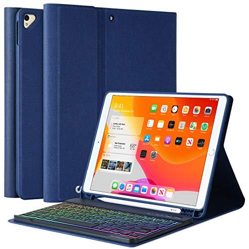 Funda con teclado para iPad 10.2 2020 / 2019 (RHCL)