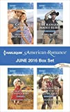 Harlequin American Romance June 2016 Box Set: Having the Rancher's Baby\The SEAL's Second Chance Baby\The Ranger's Rodeo Rebel\The Trouble with Cowgirls
