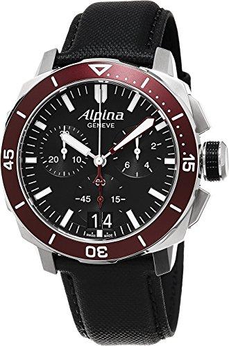 Alpina Geneve Diver 300 AL-372LBBRG4V6 Mens Chronograph Solid Case