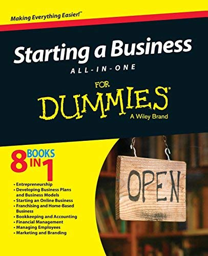 Starting a Business All-In-One For Dummies Paperback – April 27, 2015