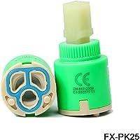 Sinjo Cartouche pour mitigeur en céramique 25mm 35mm 40mm, 25mm*pk25