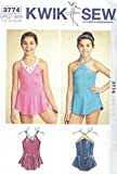 Kwik Sew 3774 Girls' and Teen Leotards Sewing Pattern supplier:sailorsparadise