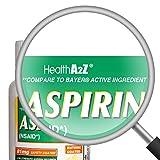 HealthA2Z Aspirin 81mg Low Strength, Enteric