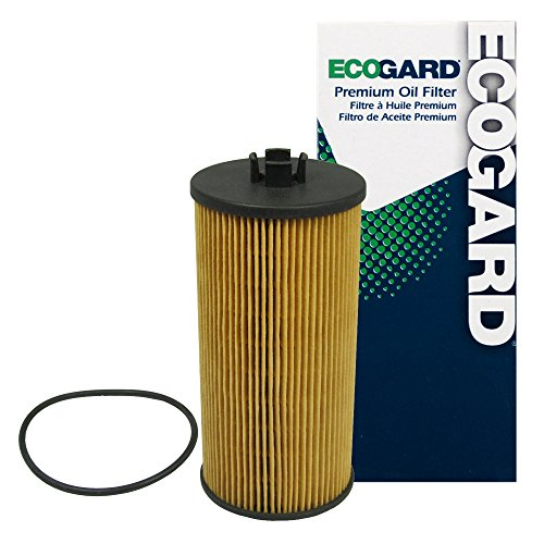 Ford Diesel Oil Filter - ECOGARD X5526 Cartridge Engine Oil Filter for Conventional Oil - Premium Replacement Fits Ford F-250 Super Duty, F-350 Super Duty, E-350 Super Duty, Excursion, E-350 Club Wagon, E-450 Super Duty