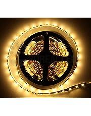 Fita LED 3528 Branco Quente 10 Metros 2 p 12V IP33
