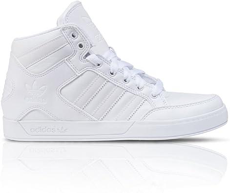 adidas Hardcourt Hi, Montants Homme Blanc Blanc,: Amazon