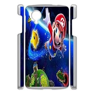 Super Mario For Google Nexus 5 Csaes phone Case THQ141103