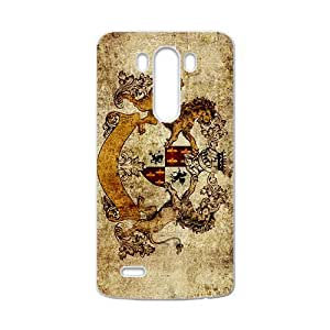 SKULL Claasic Lion Pattern Custom Protective Hard Phone Cae For LG G3