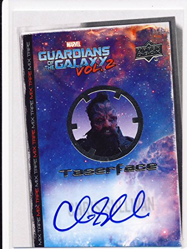 2017 Guardians of the Galaxy Series 2 Trading Card Set Autograph MT13 Chris Sullivan