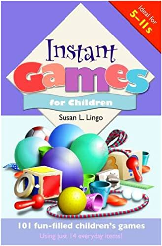 Book Instant Games for Children: 101 Fun-filled Children's Games