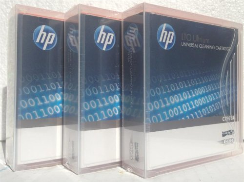 3 Pack HP C7978A Universal LTO Ultrium Cleaning Cartridge by HP
