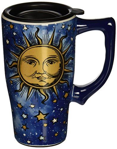 Spoontiques Celestial Travel Mug, Blue