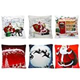 Yeahbeer 6 Packs Christmas Pillows Covers 18 X 18 Christmas...