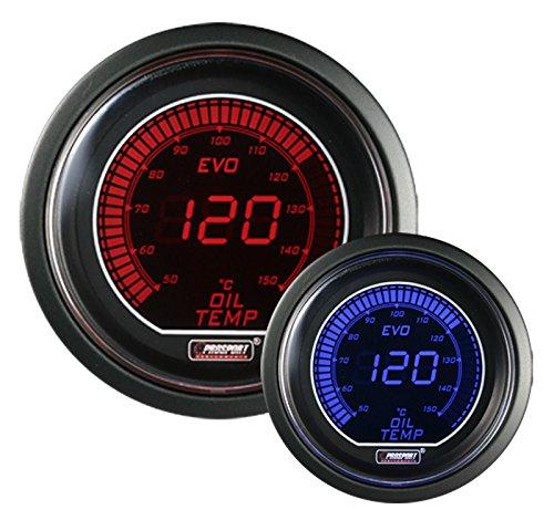 Prosport 216EVOOT Oil Temperature w/temp sensor Digital Display Gauge by Prosport Gauges