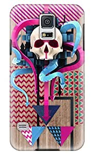 Popular diy Samsung Galaxy S5 Case Hybrid Hard Pattern with Silicone Case Cover for s5