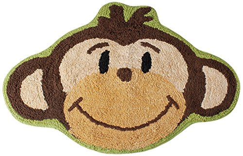 Saturday Knight Monkey Town Bath Rug - Monkey Rug