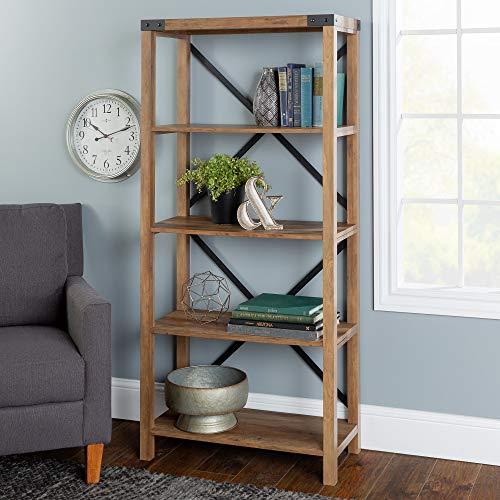 - WE Furniture AZS64MXRO Bookshelf, 64