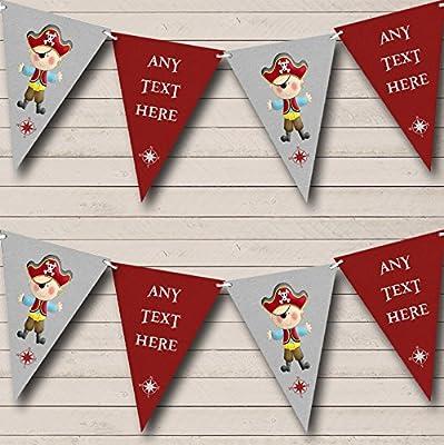 Amazon.com: Banderines personalizables para niños, diseño de ...