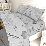 Jay Franco Minecraft Survive Twin Sheet Set - Super
