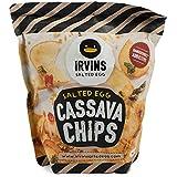 IRVINS Salted Egg Cassava Chips Crisps 105g Per Bag