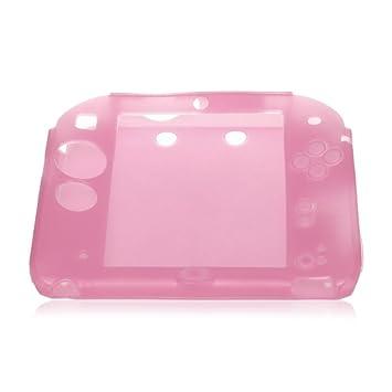 Funda Carcasa Silicona Rosa para Nintendo 2DS Consola de ...
