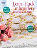 Learn Huck Embroidery on Monk's Cloth (Annie's Needlework)