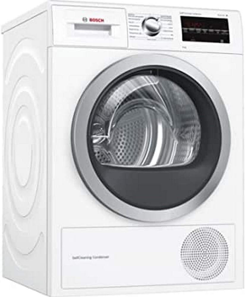 Bosch Serie 6 WTG87239EE Independiente Carga frontal 9kg A++ Blanco - Secadora (Independiente, Carga frontal, Condensación, Blanco, Giratorio, Tocar, Derecho)