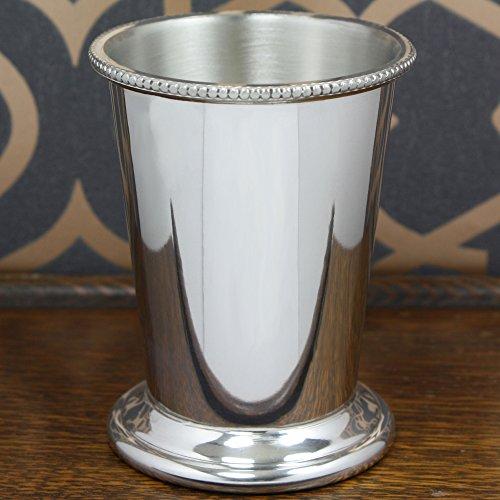 English Pewter Company 10oz Beaded Pewter Mint Julep Cup [BAR201] by English Pewter Company Sheffield, England (Image #4)