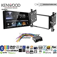 Volunteer Audio Kenwood DDX9904S Double Din Radio Install Kit with Apple CarPlay Android Auto Bluetooth Fits 2001-2006 Hyundai Elantra
