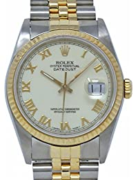 Datejust Swiss-Automatic Male Watch 16233 (Certified Pre-Owned)