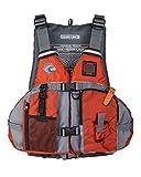 MTI Solaris F-Spec Fishing Life Jacket - Orange/Gray - XL/2X (46-56')